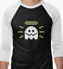8-Bit Holy Ghost Men's Baseball ¾ T-Shirt