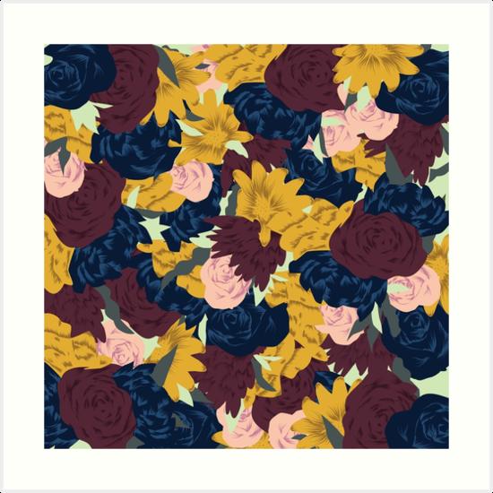 Floral Pattern by elsieandrewes