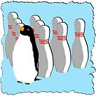 Ten Pin Penguins by bobknarwhal
