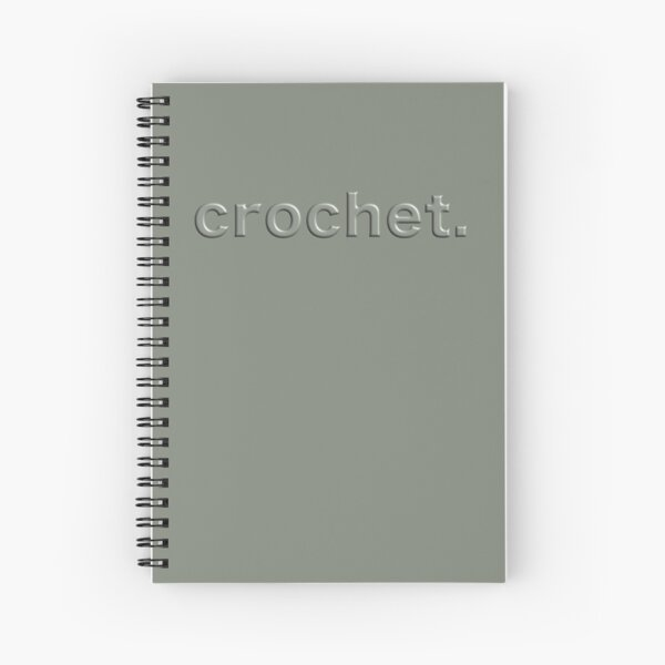 Crochet. Spiral Notebook