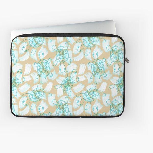 Sandy Turtle by VIXTOPHER Laptop Sleeve