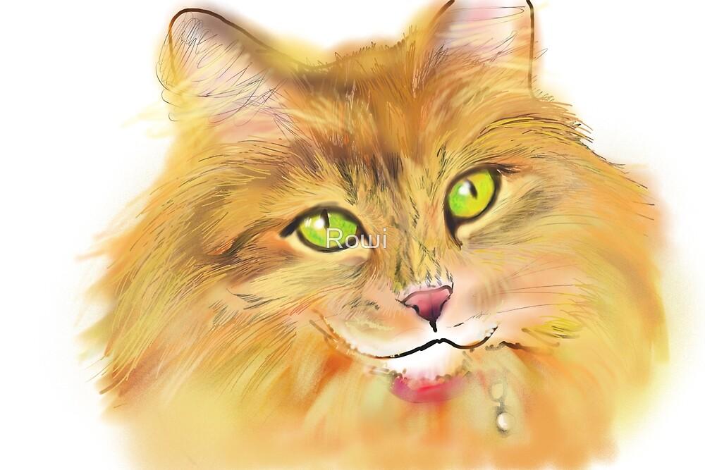 Josie Cat by Rowi