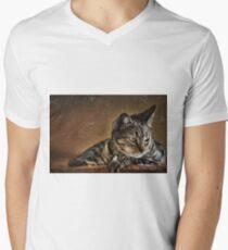 It's a Cat's Life Men's V-Neck T-Shirt