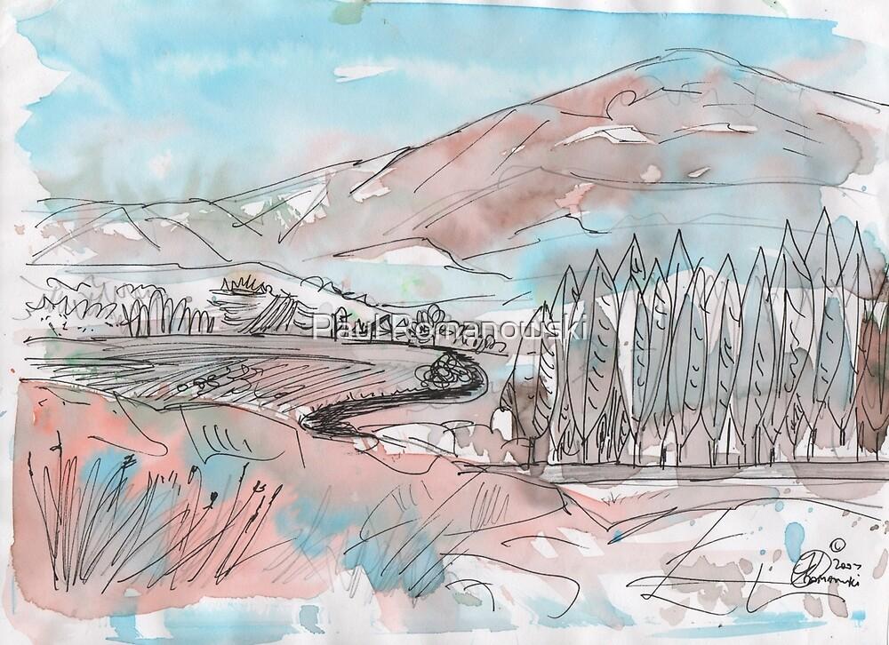 FARM ROAD(C2007) by Paul Romanowski