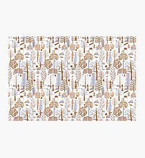 Forest Pattern Photographic Print