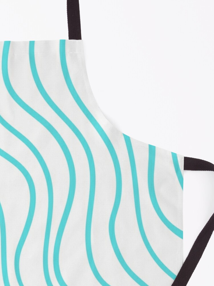 Alternate view of Turquoise Waves Apron