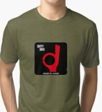 Safety Drive – Made In Japan Tri-blend T-Shirt