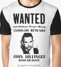 John Dillinger Graphic T-Shirt