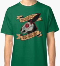 Black rabbit of inle (plain background) Classic T-Shirt