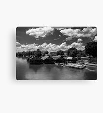 Floating Restaurants - Thailand Canvas Print