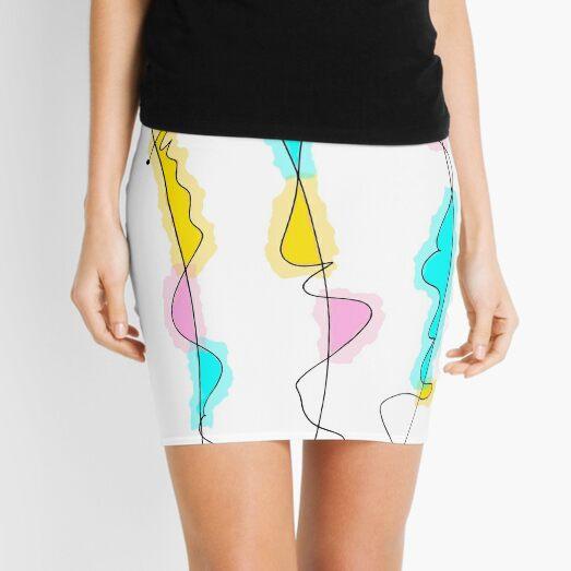 3 Lines Mini Skirt