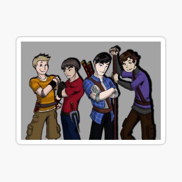 Teenage Ninja Humans Sticker