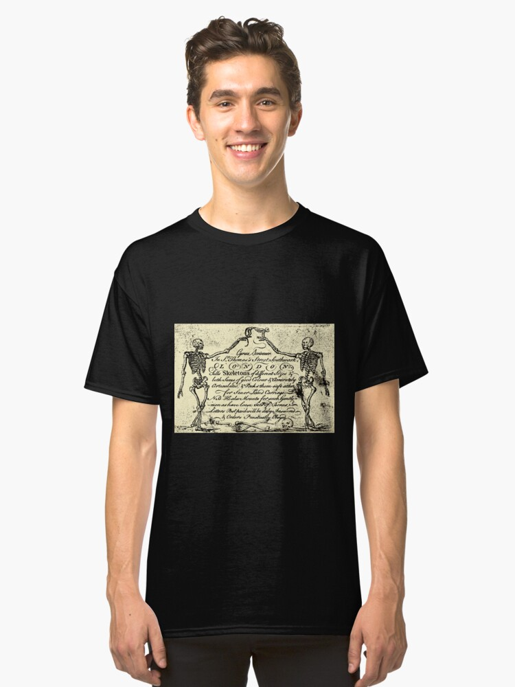 Skeletons For Sale Classic T-Shirt Front