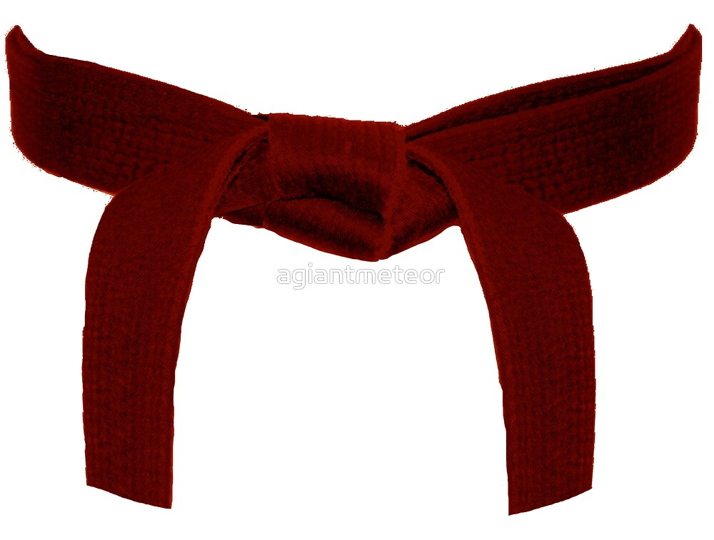 Martial Arts Red Belt by agiantmeteor