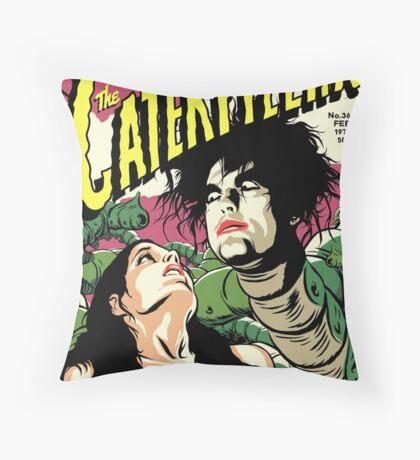 TFTS   Caterpillar Throw Pillow