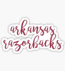 Arkansas Razorbacks Sticker