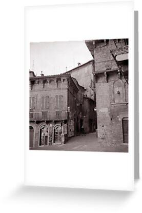 Tobacchi e la ragazzina, Siena  by Maggie Hegarty