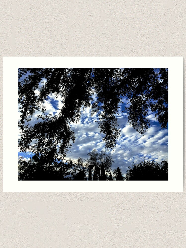 Alternate view of A view from the garden Art Print