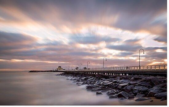 St Kilda Sunset by Miommi