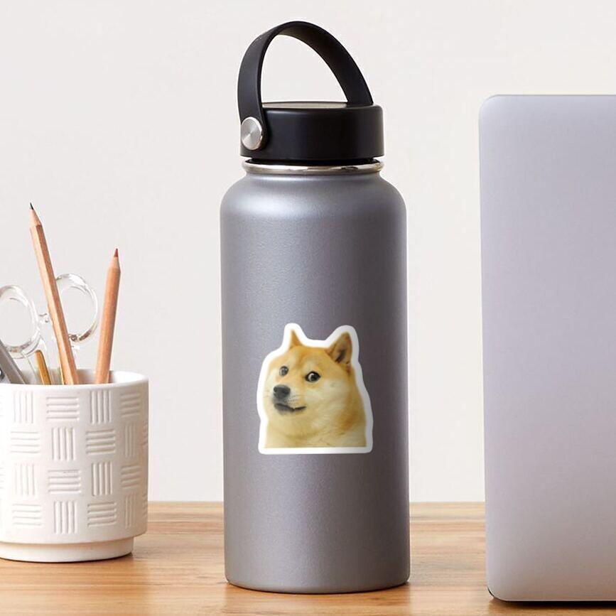 Dogecoin Shiba Inu Sticker