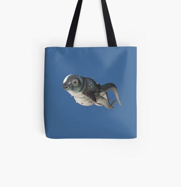 CuteFish All Over Print Tote Bag