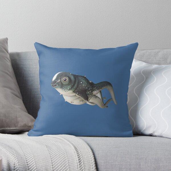 CuteFish Throw Pillow