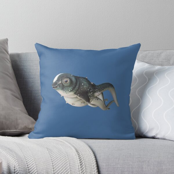 CuteFish Throw Pillow