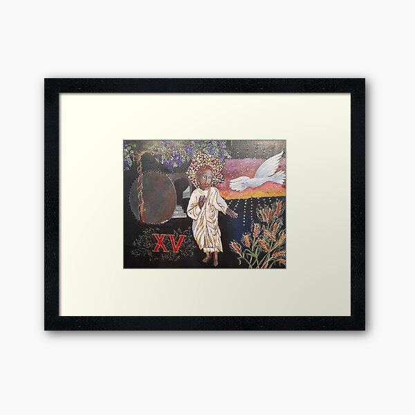 THE RESURRECTION Framed Art Print