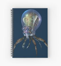 Crabsquid Spiral Notebook