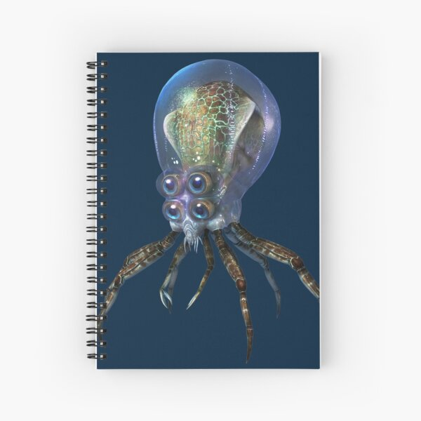 Crabsquid Spiral Notebook
