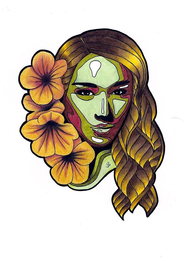 Femme Botanica - Hold by janestradwick