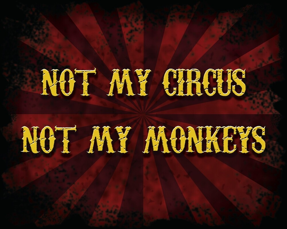 Not My Circus by Sabrina Raven