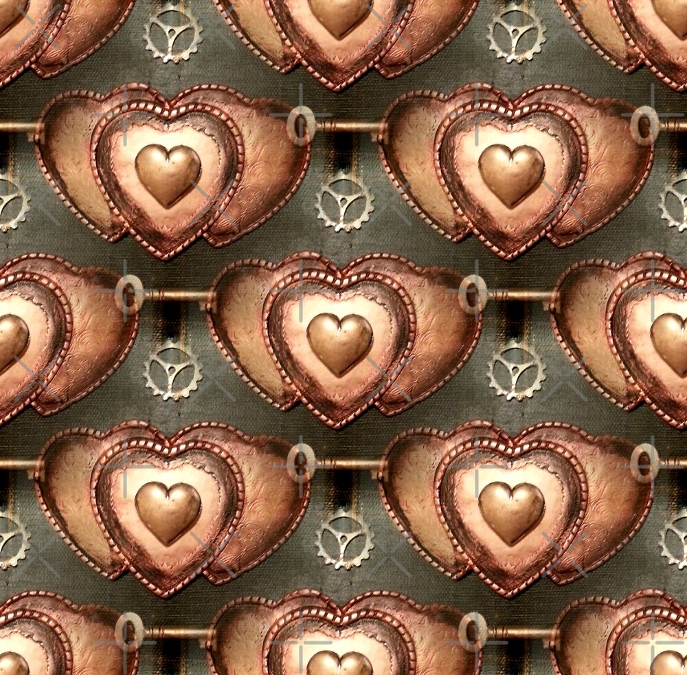 Steampunk Hearts by Artisimo