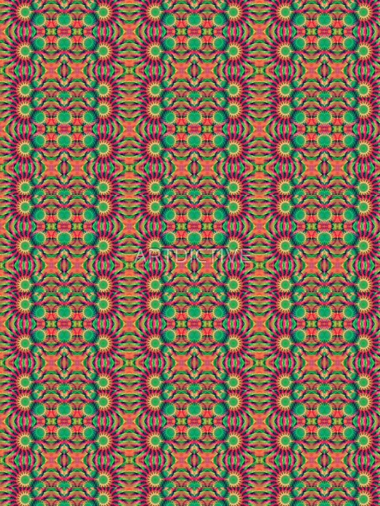 Tropical Tribal Pattern by ARTDICTIVE