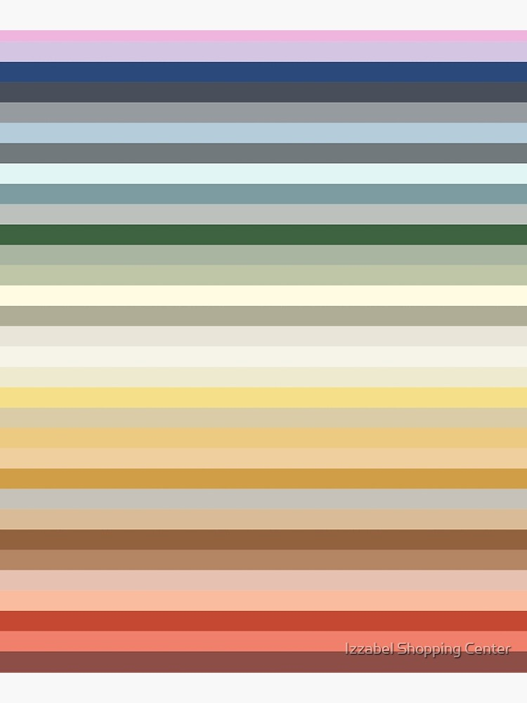Candy Lane - Multicoloured Rainbow Stripes by style41