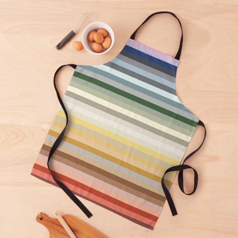 Candy Lane - Multicoloured Rainbow Stripes Apron