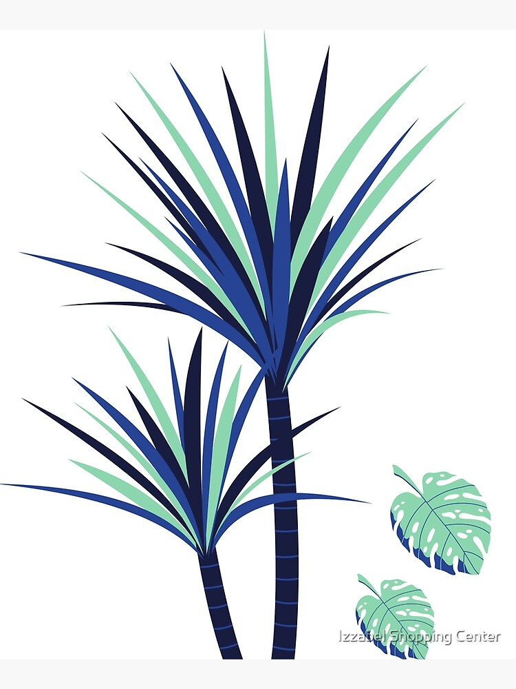 Tina - Palm Flower Print by style41