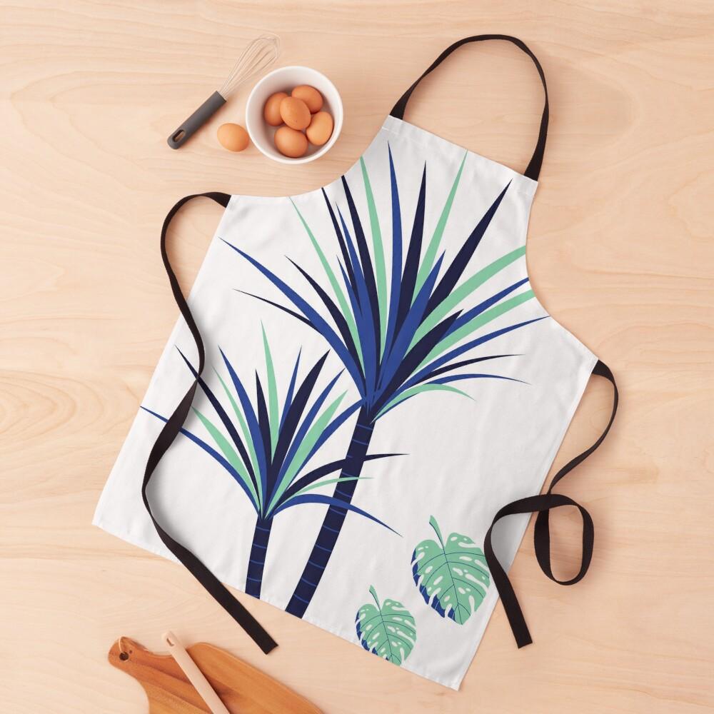 Tina - Palm Flower Print Apron