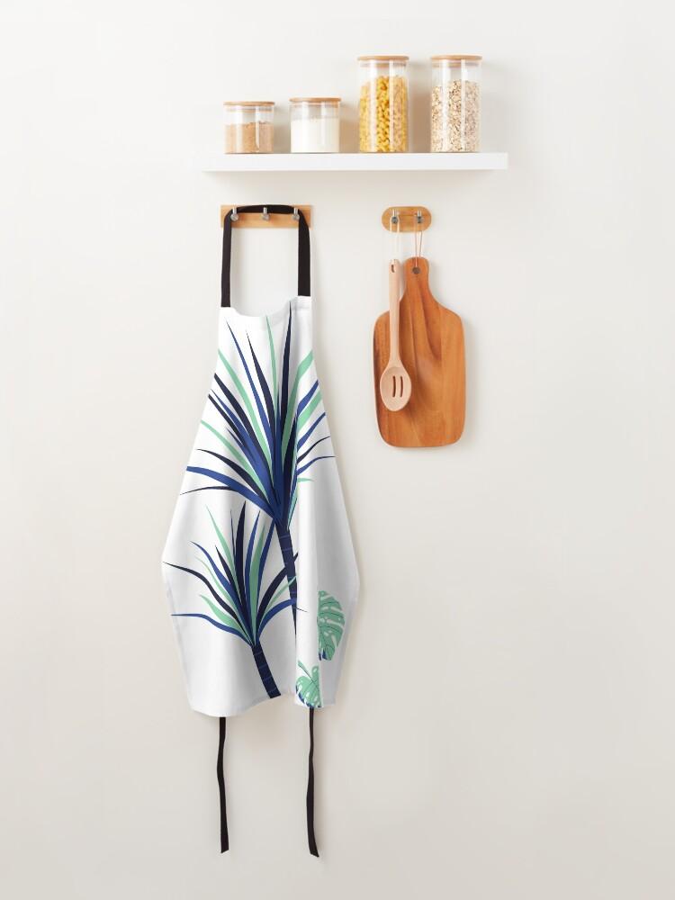 Alternate view of Tina - Palm Flower Print Apron