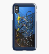 Pedal power iPhone Case/Skin