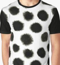 Pattern with black spots Graphic T-Shirt