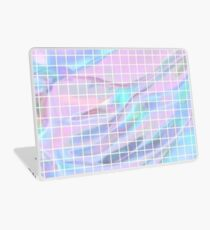 Holographic Grid Laptop Skin