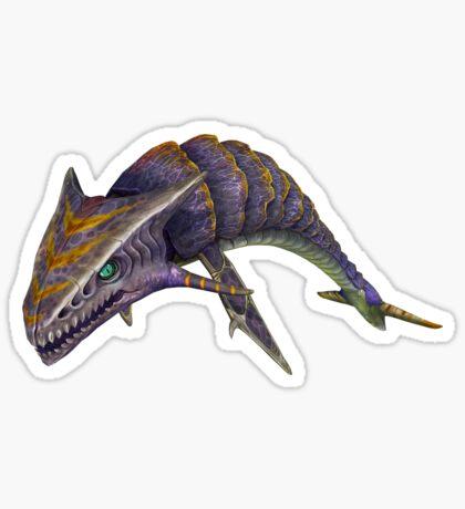 Boneshark Sticker