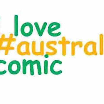 I love #australia comic by minicomic-club