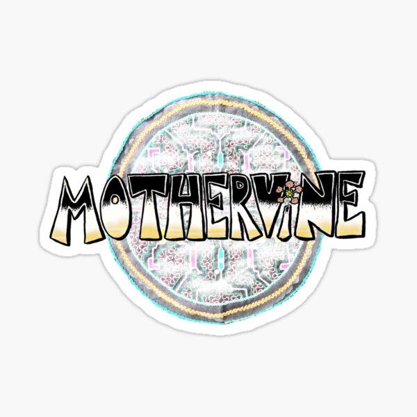 MotherVine Logo Aya Sticker