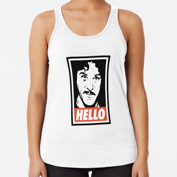 Hola mi nombre es Íñigo Montoya Camiseta con espalda nadadora