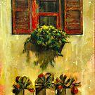 Red Window by Eva Crawford