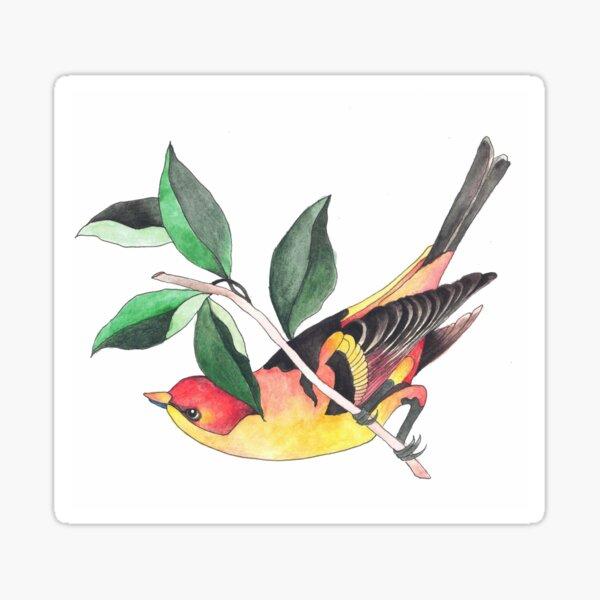 Watercolour Bird Sticker