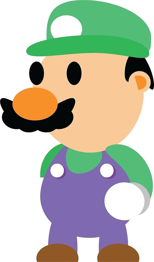 Minimal Luigi by GreenStar