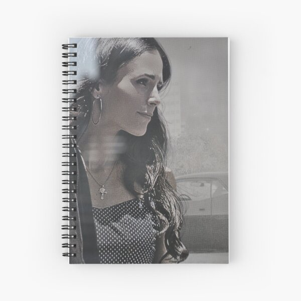 The Beauty from Fast and Furious Spiral Notebook